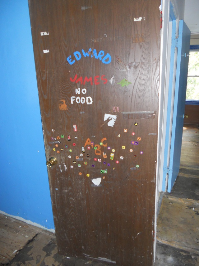 Door of the Spiderman room