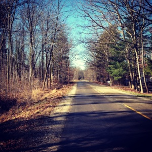 Day Nine: Gorgeous 40 degree weather today! I just had to get out and enjoy! :) #sunshine#unseasonablywarm#walk#enjoy