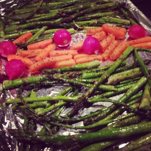 Day One Hundred & Forty-Eight: A Memorial Day veggie roast. #veggie#holiday#yummy